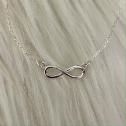 Infinity Sterling Silver | Necklace