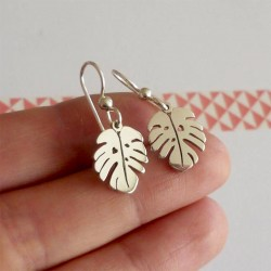 Delicious Monster Drop Earrings | Sterling Silver