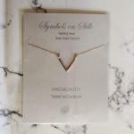 Geo V Rose Gold | Necklace