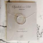 Geo Round Sterling Silver | Necklace