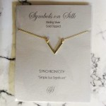 Geo V Gold Dipped | Necklace