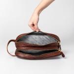 Double Zip Vanity Bag
