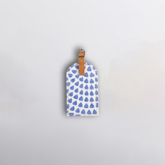Luggage Tag | Scale Away Blue