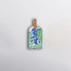 Luggage Tag | Leafing Blue