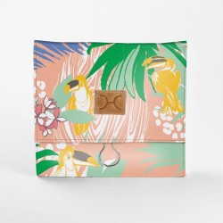 Roll Up Vanity   Toucan Daffodil