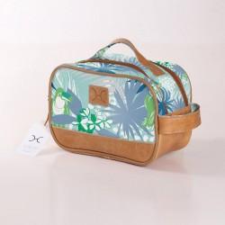 Vanity Bag    Toucan Blue