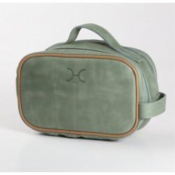 Vanity Bag  | Leather Olive