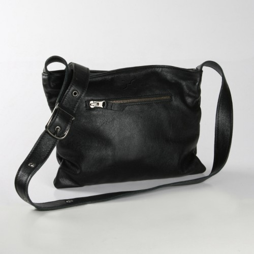 Mini Messenger Handbag | Black
