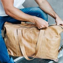 Masai Carrier Weekender Bag | Hazelnut