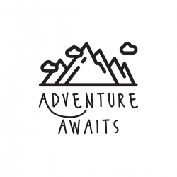 Adventure Awaits | VINYL STICKER