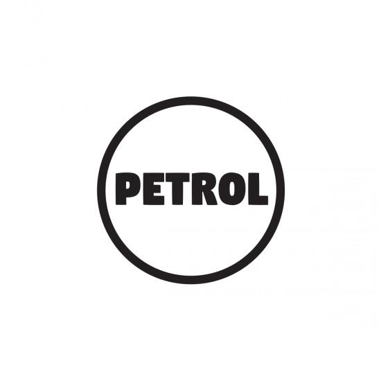 Petrol Only   VINYL STICKER