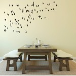 Flying Flock | 40 bird stickers