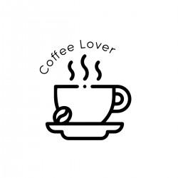 Coffee Lover | VINYL STICKER
