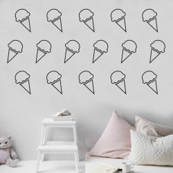 Wall Sticker | Ice-cream For Days