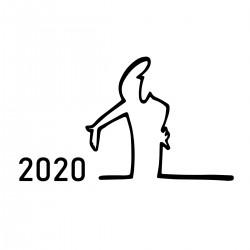 Looking at 2020 like…   VINYL STICKER