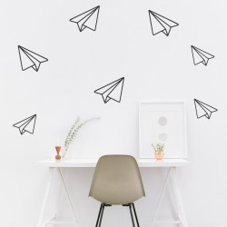 Wall Sticker | Paper Jet Planes