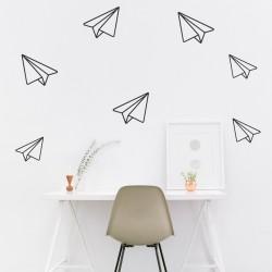 Paper Jet Planes | VINYL STICKER