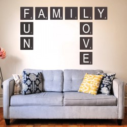 Wall Sticker | Scrabble