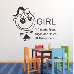 Girl | Wall Decal