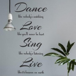 Dance Like No One is Watching | VINYL STICKER