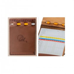 Golf Score Card | Genuine Leather
