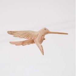 Wooden Hummingbird on Line