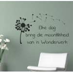 Elke Dag  | Wall Decal