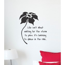 Life isn't about | Wall Decal