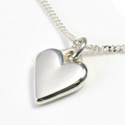 Heart on Silver Chain