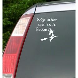 Broom   VINYL STICKER