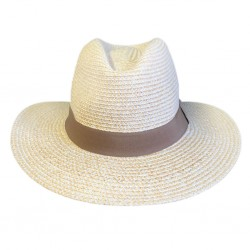 Oscar Mens Hat | Ivory White