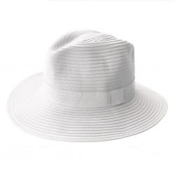 Safari Hat | White with White Band
