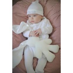 WHITE Snuggle Bunny   White Ears