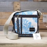 Passport Bag | Africa Daisy | Turquoise on Stone
