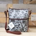 Pouch Bag Garden | Charcoal Mint