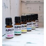 Sandalwood Heart + Oil | Scented Wooden Heart and a Top Up Scented Oil