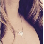 Tree of Life | on Grey Silk Necklace