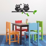 Owl family | Wall Decal