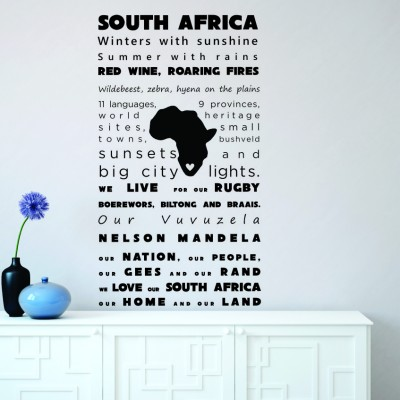 SOUTH AFRICA | Wall Decal