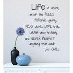 Life is short | Wall Decal